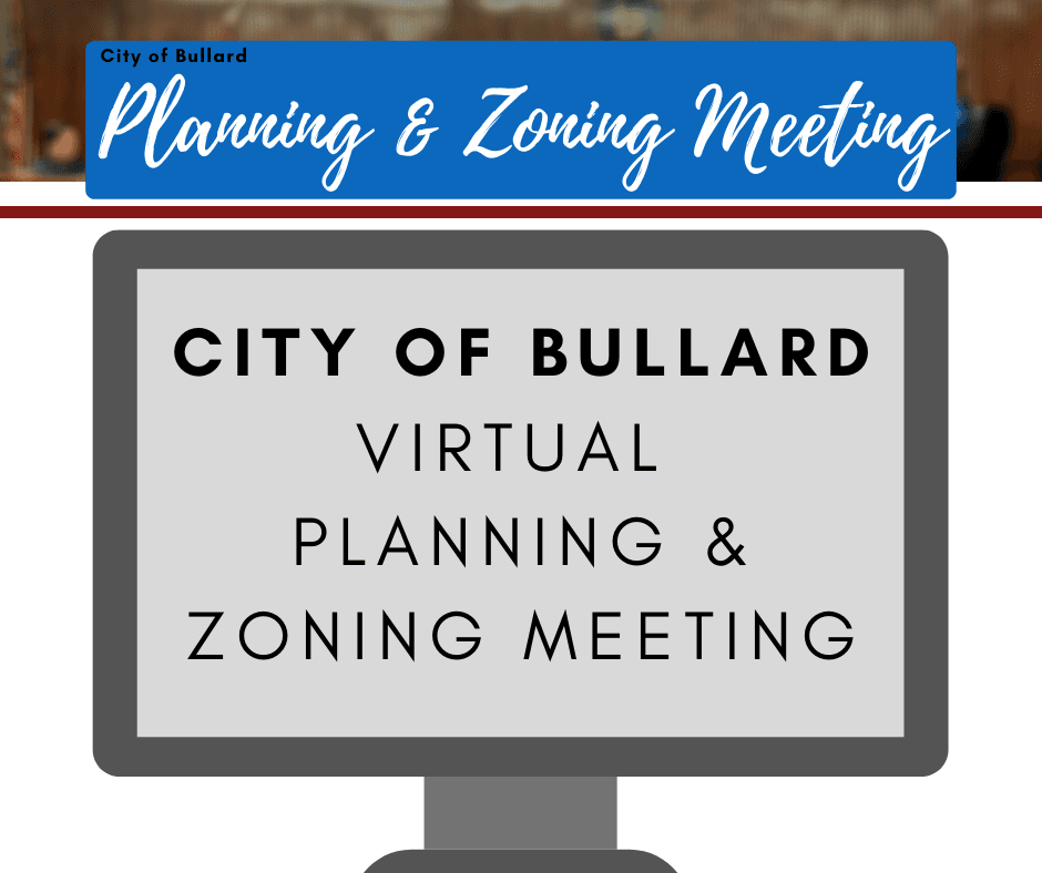 Virtual P&Z Meeting