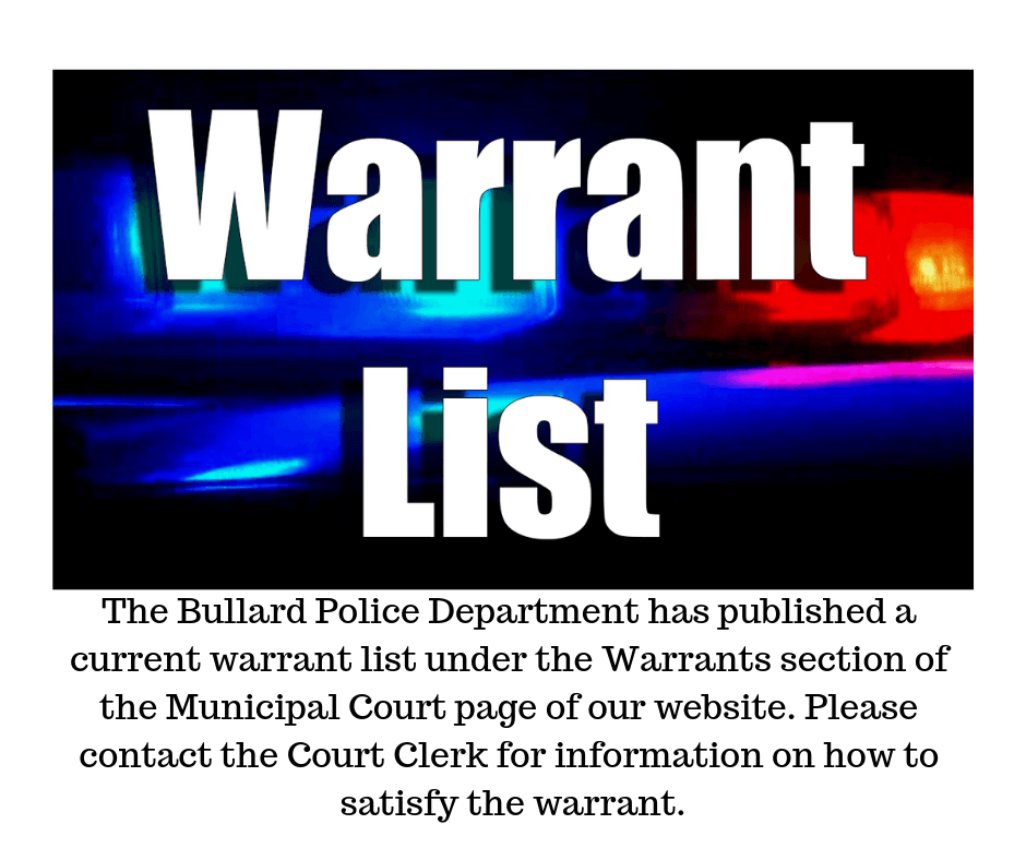 NAME WARRANT # OFFENSE FINE AMOUNT TR00010536 EXPIRED